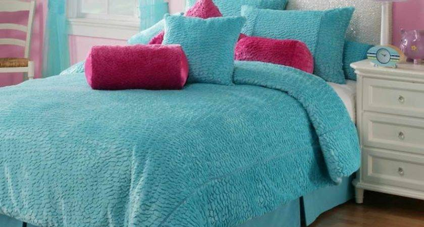 Teenage Girl Bedroom Pink Blue