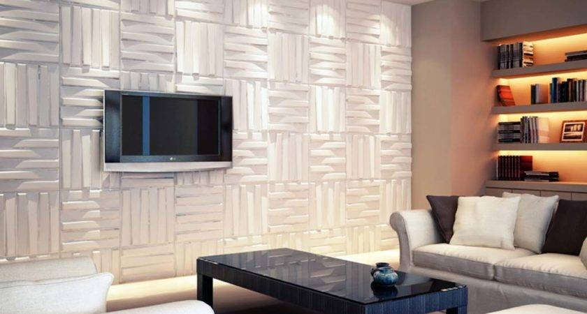 Textured Wall Panels Modern Board Room Design