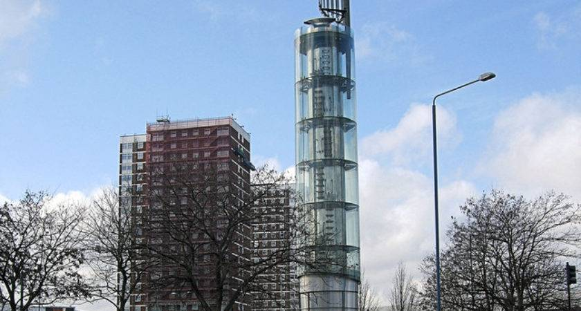 Thames Water Tower Holland Park Roundabout Shepherd