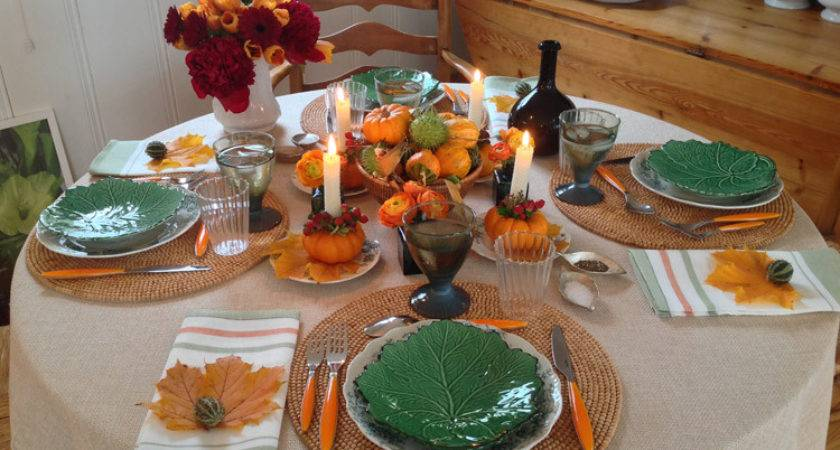 Thanksgiving Table Decoration Simple Fun