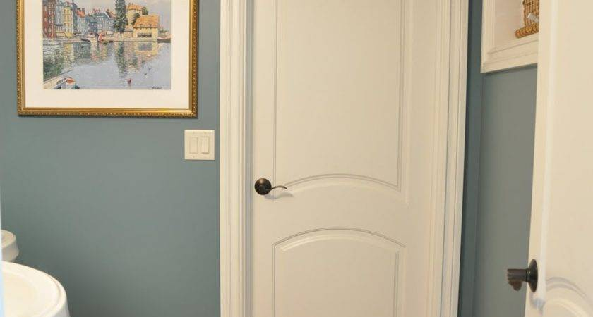 Thrifty Powder Room Makeover