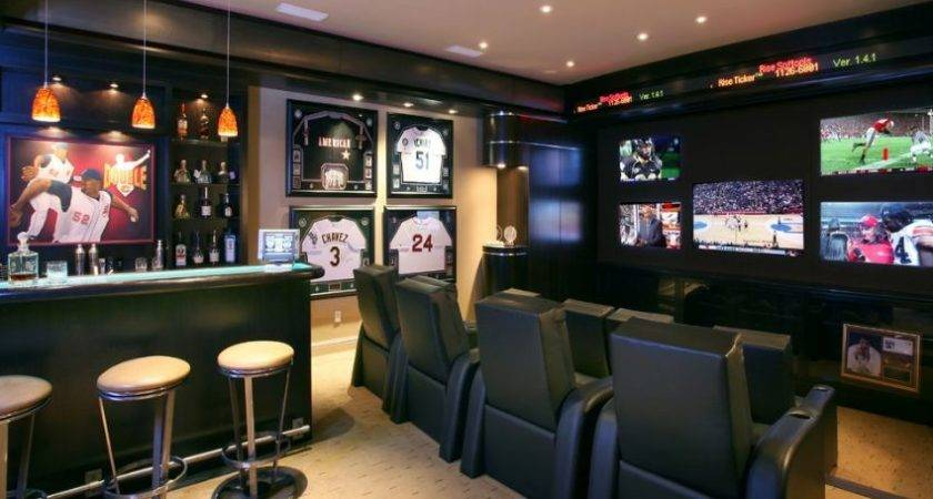 Tips Ideas Successful Man Cave Decor