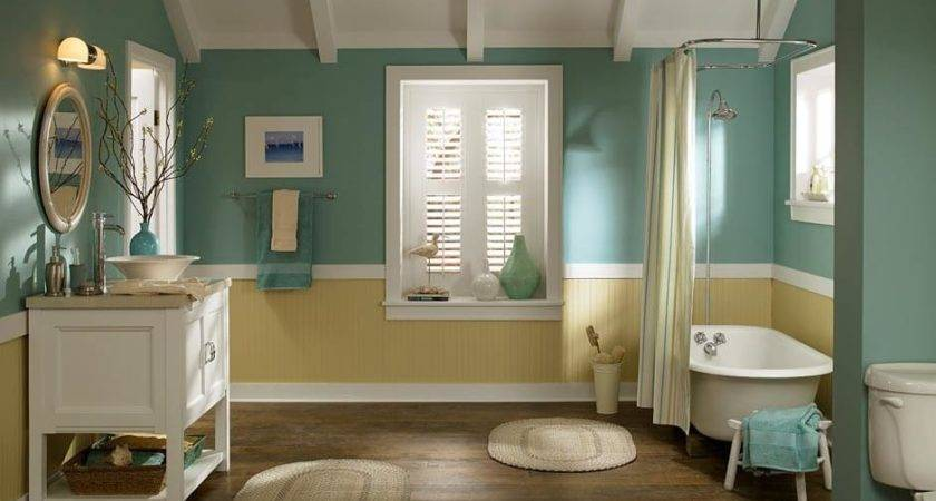 Top Bathroom Colors Half Bath Afters Navy Most