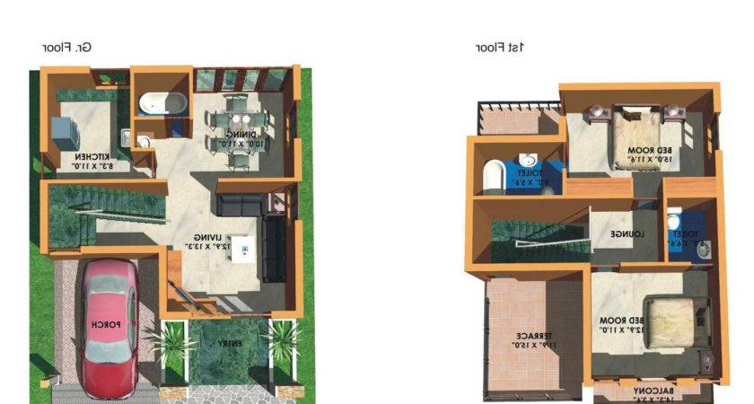 Top Bedroom House Plans India Home Design Ideas Classy