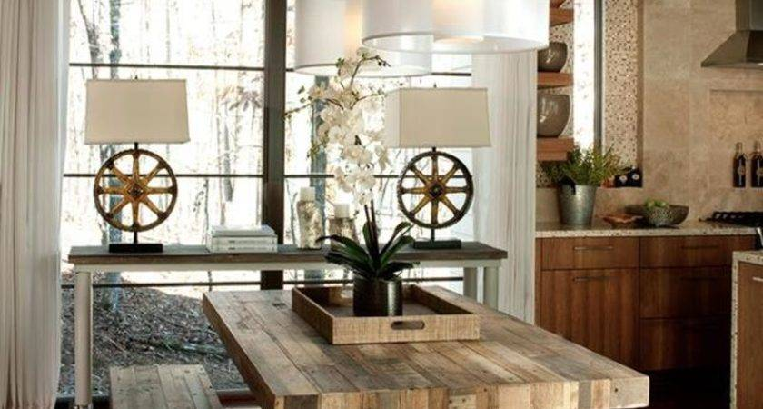 Totally Inviting Rustic Dining Room Designs