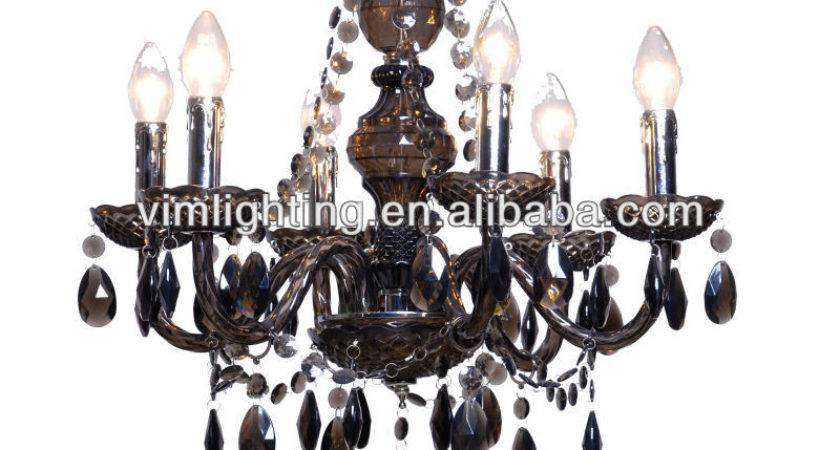 Traditional Cheap Black Acrylic Chandelier Lighting
