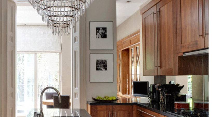 Traditional Kitchen Chandelier