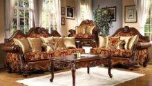 Traditional Living Room Furniture Big Sofa Set