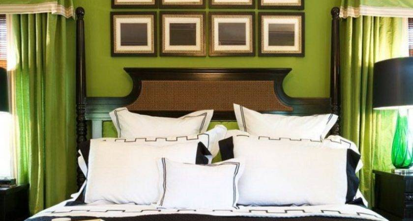 Tranquil Welcoming Ambiance Green Bedroom Ideas