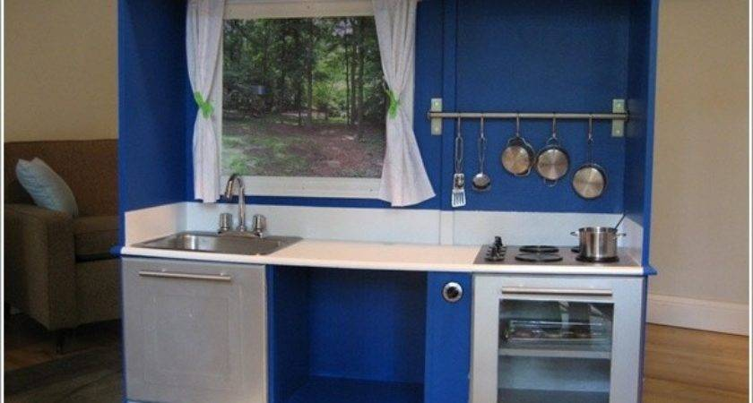 Transform Old Cabinet Into Play Kitchen Your