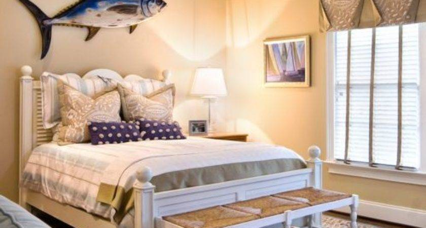 Travel Theme Guest Bedroom Home Design Ideas