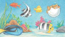 Tropical Fish Learn Draw Pets Book