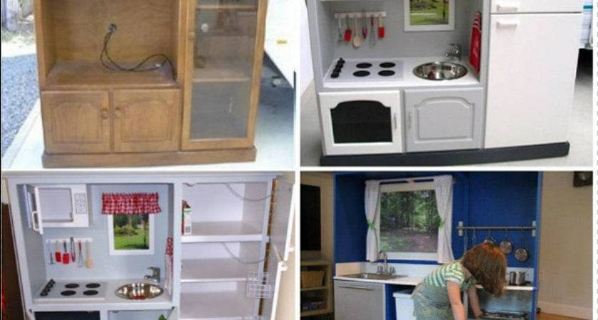 Turn Old Cabinet Into Play Kitchen Your