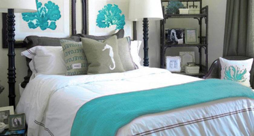 Turquoise Bedroom Accessories Grasscloth