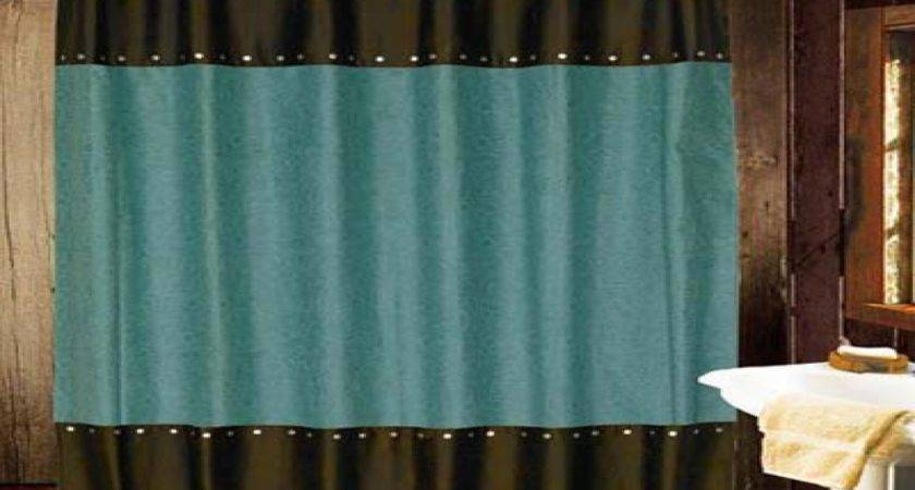 Turquoise Bedroom Curtains Western Shower