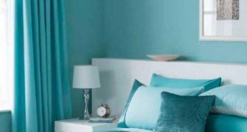 Turquoise Bedroom Decorating Theme Curtain Ideas