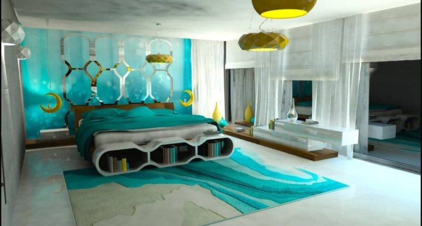 Turquoise Bedroom Trends More Freshness Decorationy