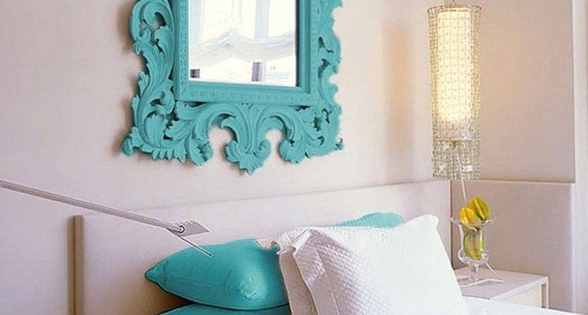 Turquoise White Bedroom Decorate House