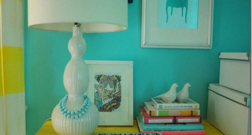 Turquoise Yellow Guest Room Flickr Sharing