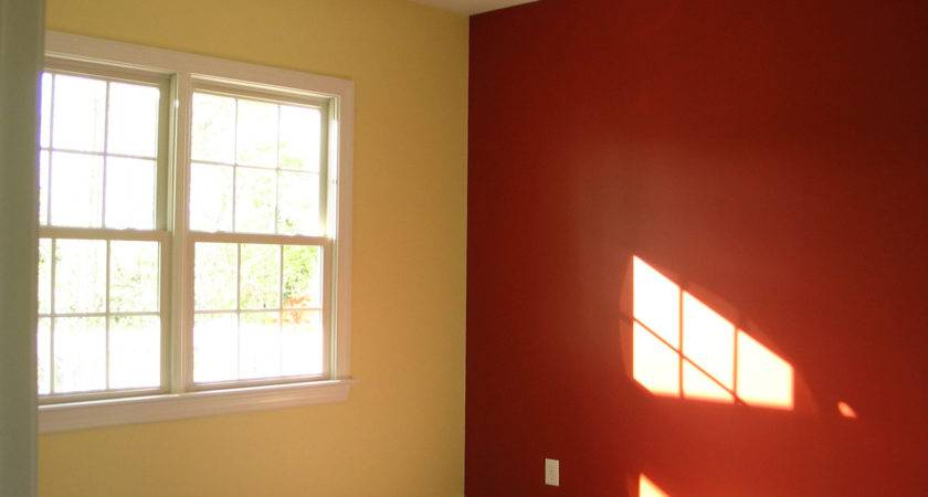 Two Color Painting Idea Room Home Combo