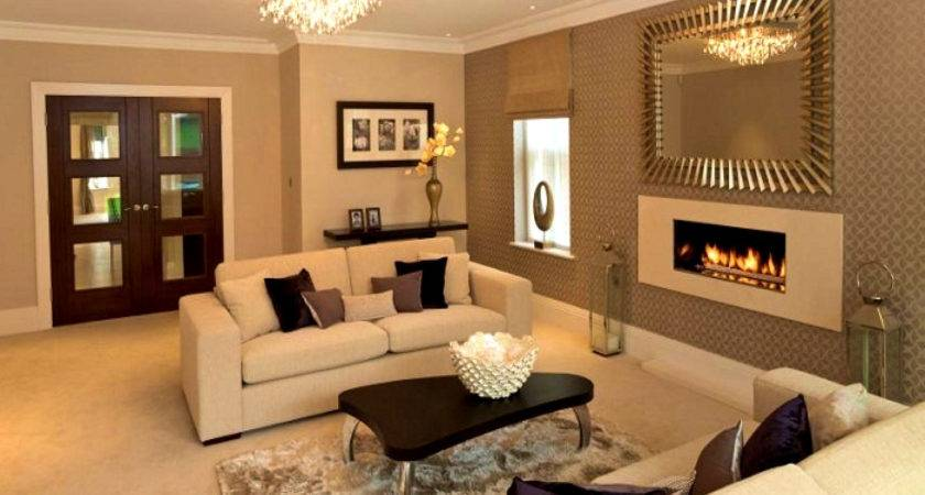 Two Colour Combination Living Room Bedroom Charming