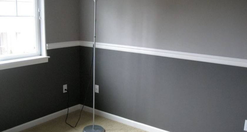 Two Tone Living Room Walls Appealing Choosing Dining