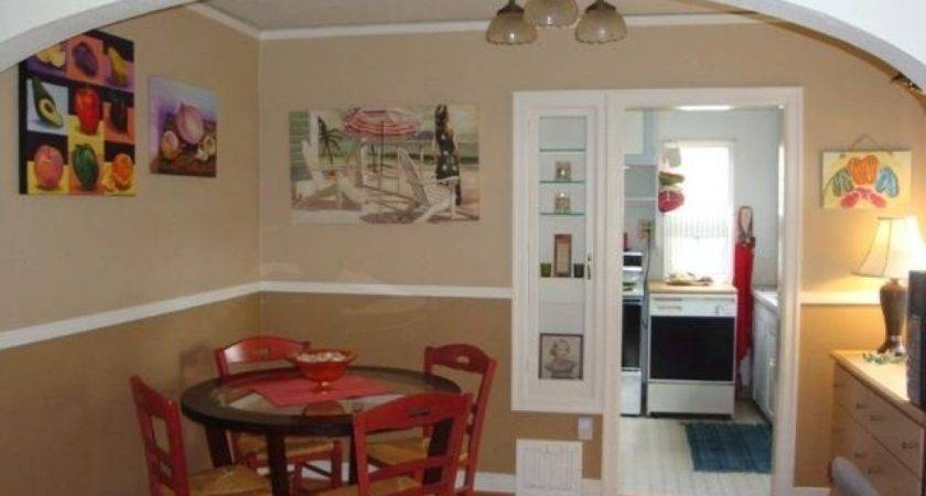 Two Toned Rooms Alluring Dining Room Tone