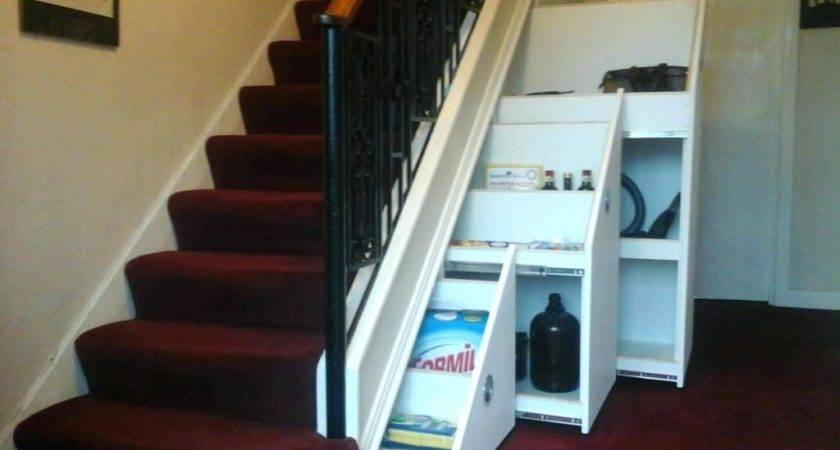 Under Stair Storage Drawers Plans Stairs Shoe Bradcarter