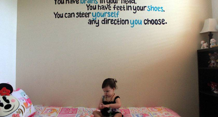 Veggie Mama Wanna Paint Quote Mural Your Wall