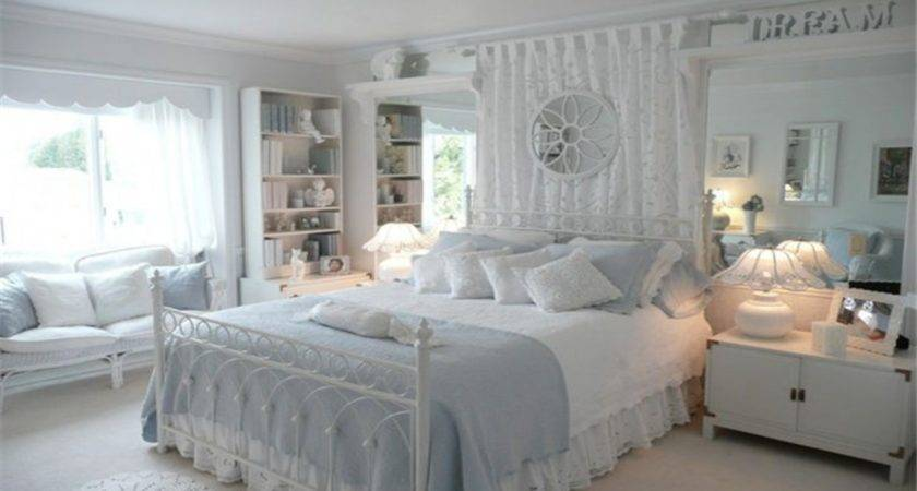 Victorian Style Bedroom Ideas Light Blue White