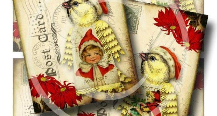 Vintage Christmas Ephemerasgarden Paper Crafts