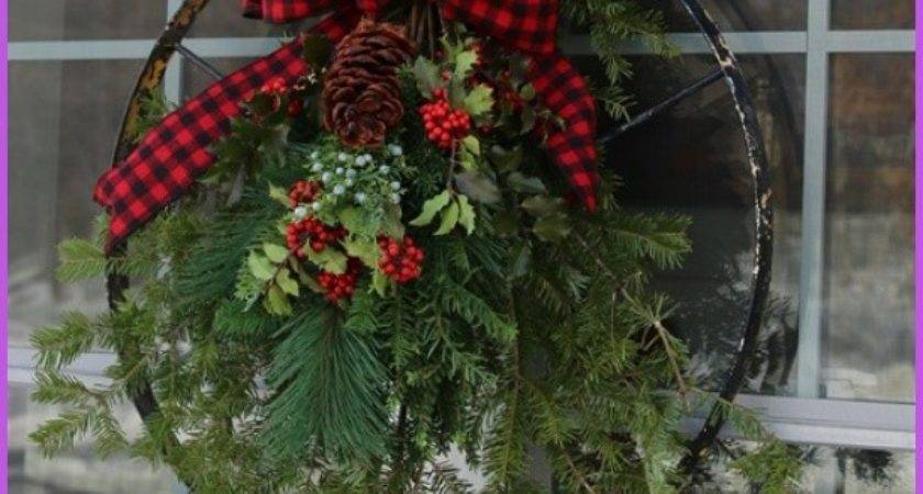 Vintage Christmas Outdoor Decorating Ideas Homedesignq