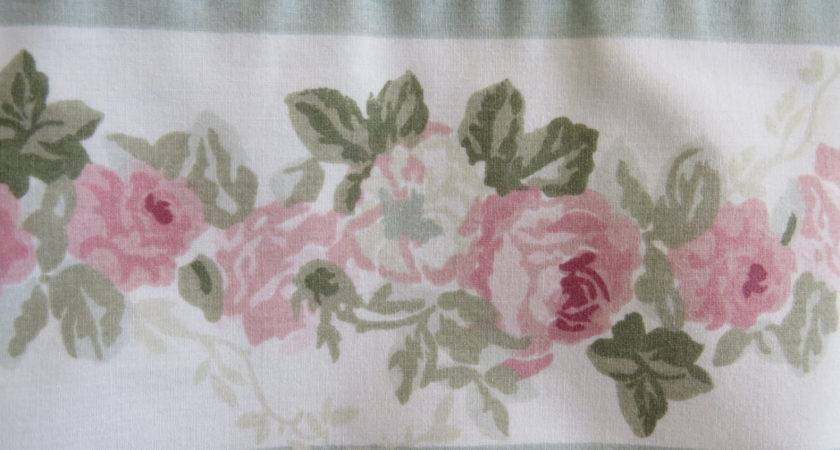 Vintage Laura Ashley King Pillowcases Set Country