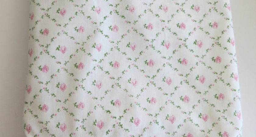 Vintage Laura Ashley Pillow Sham Single Standard Pink