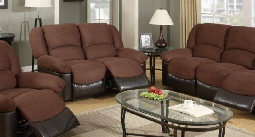 Wall Color Goes Brown Leather Sofa Bedroom