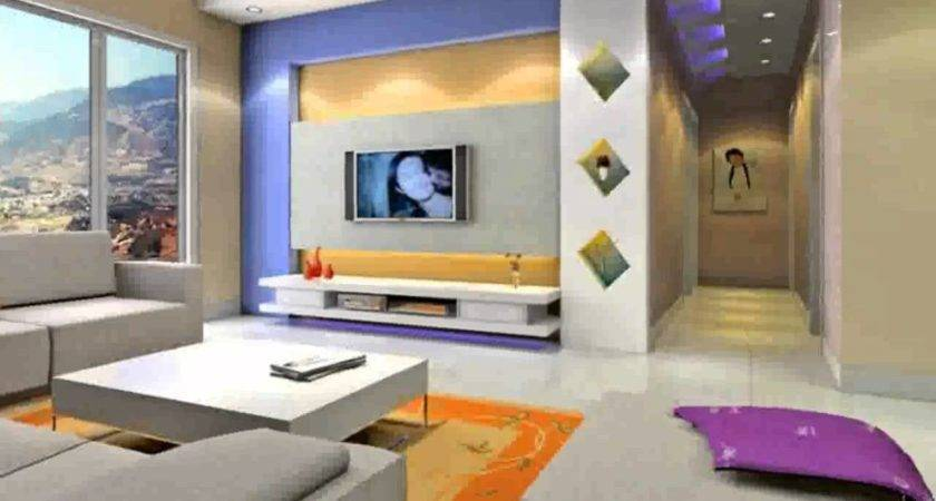 Wall Colour Combination Living Room Design