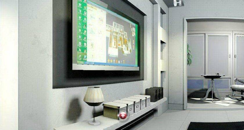 Wall Design Drawing Room House