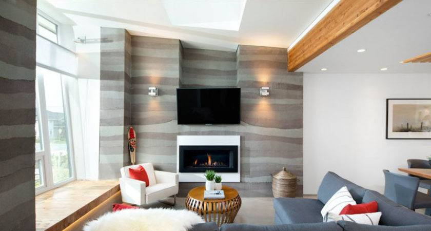 Wall Design Ideas Your Living Room Contemporist