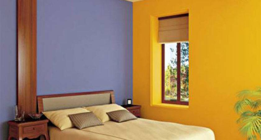 Wall Paint Combination Bedroom Home Decorating