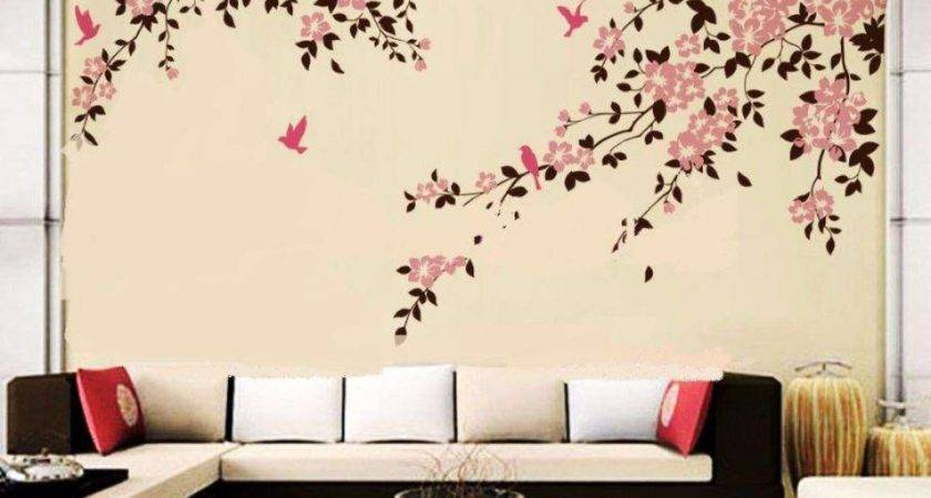 Wall Painting Designs Bedroom Stunning Ideas Easy