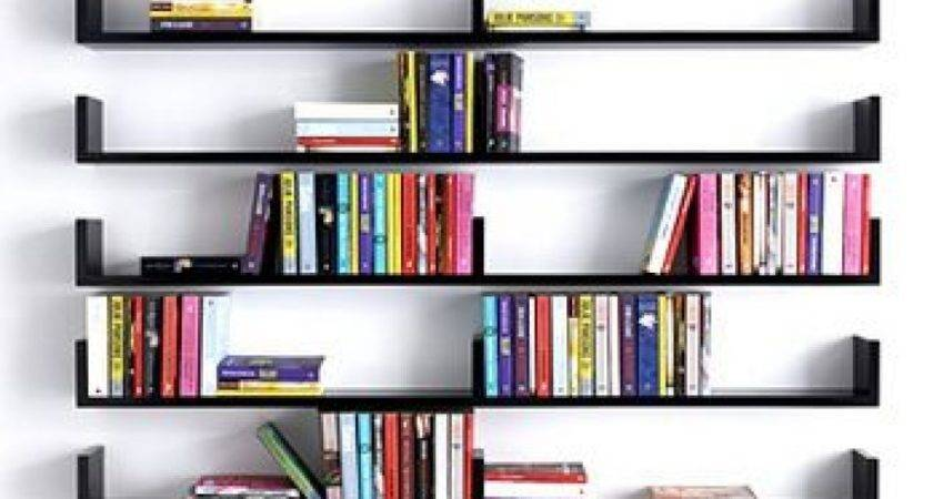 Wall Shelves Hanging Books Floating