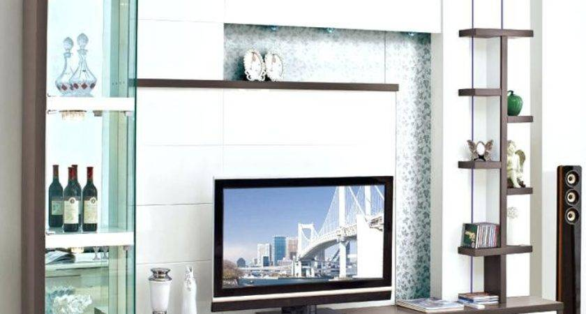 Wall Unit Designs Latest Design Wood Led Small