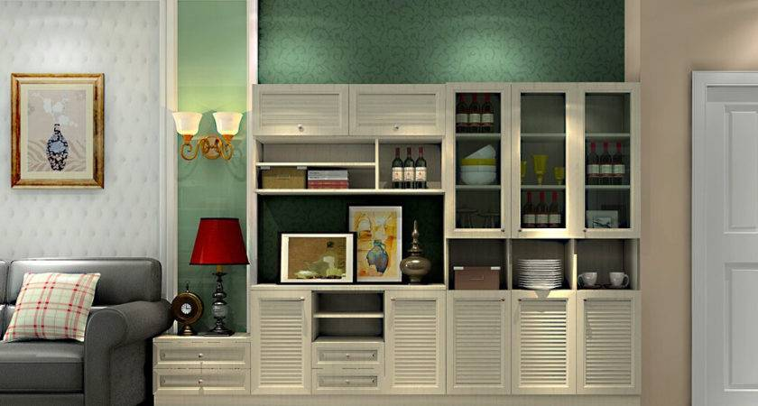 Wall Units Dining Room Custom Traditional
