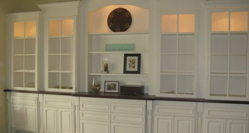 Wall Units Dining Room Traditional