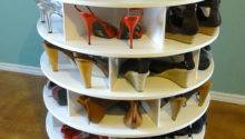 Want Make Lazy Susan Shoe Rack Home Depot Community
