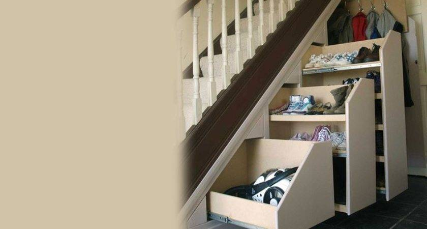 Want Under Stair Pull Out Storage Shoe Rack Great Idea