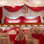 Wedding Decorations Red White