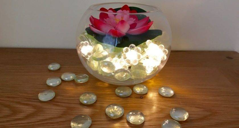 Wedding Party Table Decoration Flower Centrepiece Fish