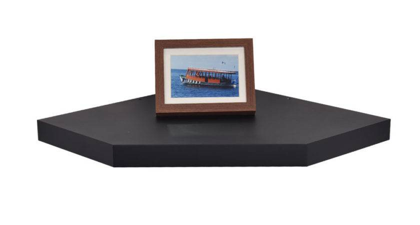 Welland Chicago Floating Corner Wall Shelves Mount Ledge