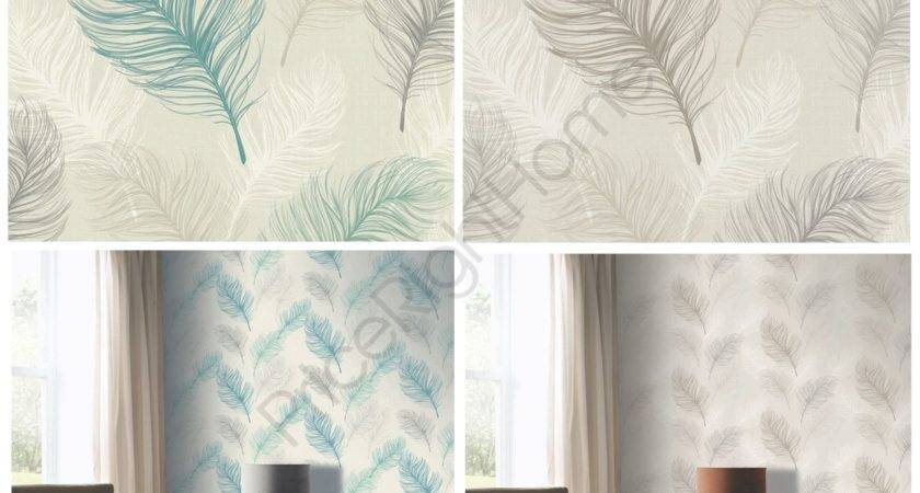 Whisper Feather Arthouse Taupe Teal